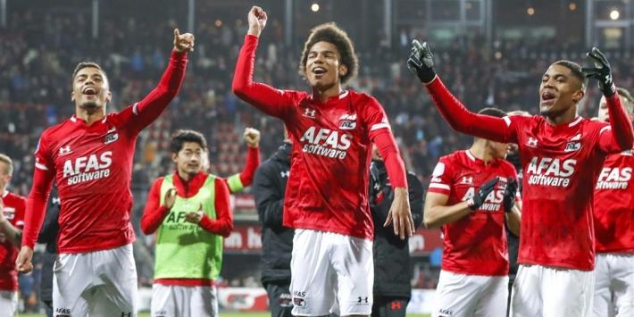 "AZ-trio niet in kielzog Slot naar Feyenoord: ""Goede 1 april-grap"""