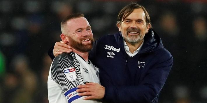 Derby County's Cocu verrast Fulham bijna en pakt een punt