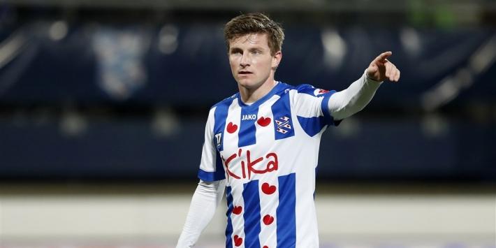 Dreyer staat na half jaar alweer voor vertrek bij sc Heerenveen