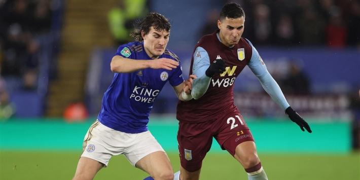 Leicester City moet mede door assist van El Ghazi aan de bak