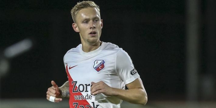 FC Den Bosch haalt verdediger Van der Velden op bij FC Utrecht
