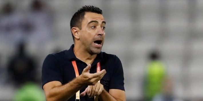 'Xavi vertrekt bij Al-Sadd en staat voor terugkeer bij Barcelona'