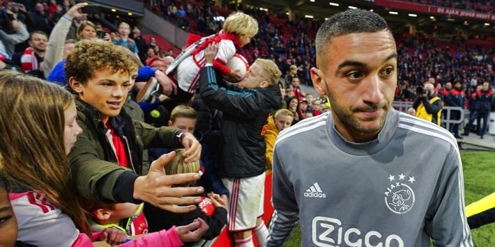"""Carragher: """"Ziyech had back-up kunnen zijn voor Mané of Salah"""""""