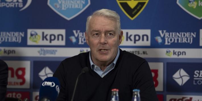 """De Koning trots op VVV-Venlo: """"De groep zit er even doorheen"""""""
