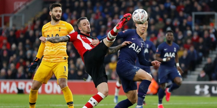 Spurs incasseert in slotfase replay tegen Southampton