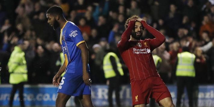 Shrewsbury Town loopt half miljoen mis door B-team Liverpool