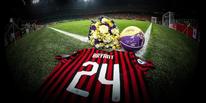 AC Milan omlijst eerbetoon Bryant met zege in beker