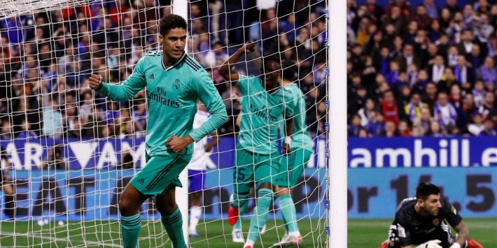 Real Madrid eenvoudig door naar kwartfinale Copa del Rey