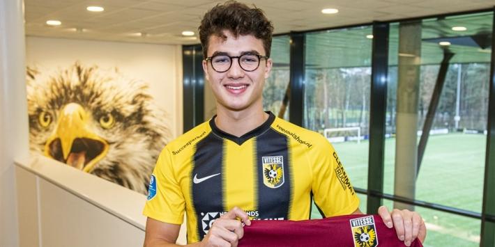 Delaveris vertrekt na één wedstrijd alweer bij Vitesse
