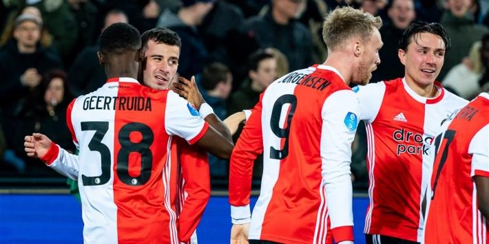 Feyenoord donderdag met rouwbanden tegen Heerenveen