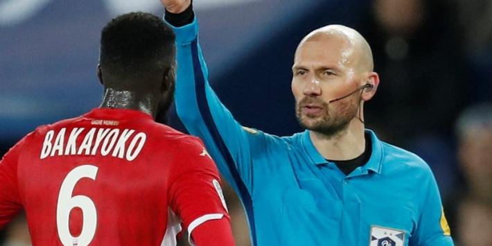 AS Monaco in de problemen: twee rode kaarten in mum van tijd