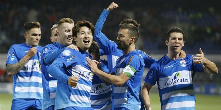 PEC Zwolle bereikt akkoord met selectie over salarisverlaging