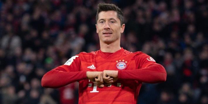 Ontketende Lewandowski wekenlang 'out' bij Bayern