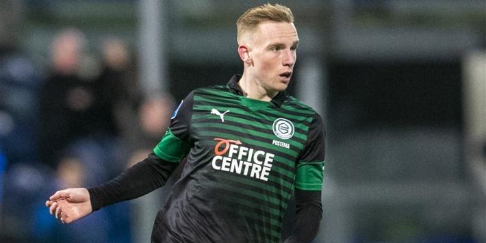 FC Groningen breekt contract open van talent Postema