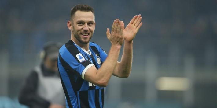 De Vrij beste verdediger van Serie A, eervolle vermelding Amrabat