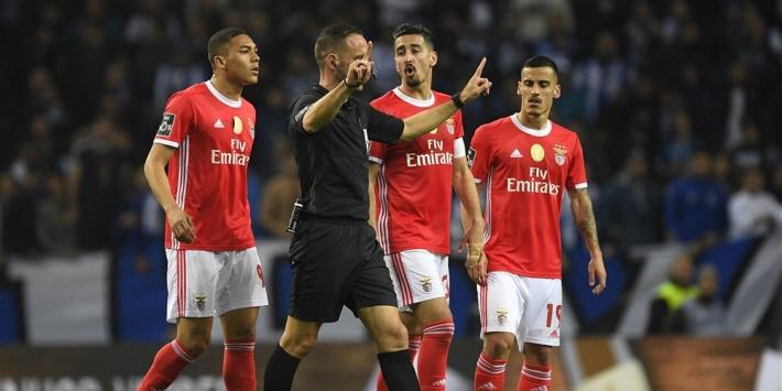 Benfica beleeft vreselijke herstart en zet koppositie op het spel