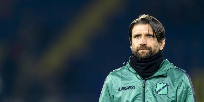 'Nog niet zeker of Hyballa ook komend seizoen coach is van NAC'