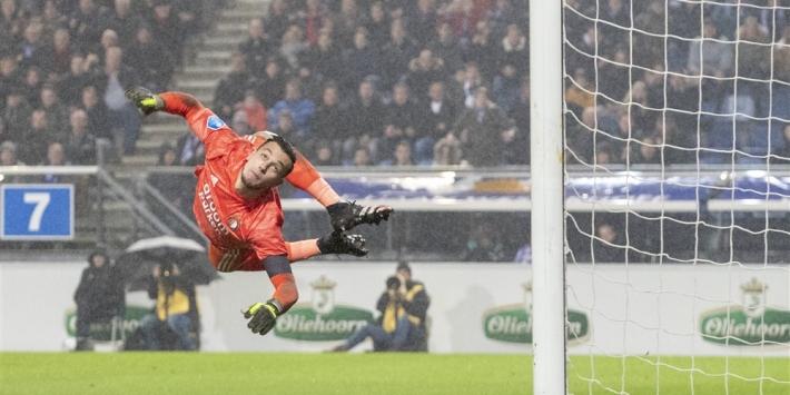 Bijlow redt Feyenoord van bekeruitschakeling tegen Heerenveen