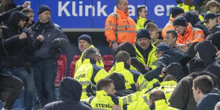 Heerenveen treft maatregel na provocerende Feyenoorders