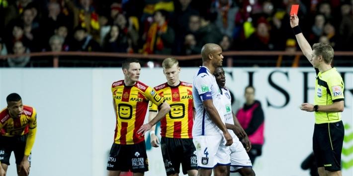 Rode kaart toptalent Doku (17) leidt nederlaag Anderlecht in
