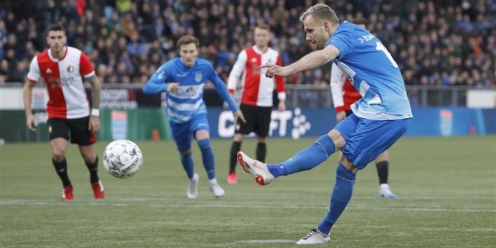 'Sparta Rotterdam neemt transfervrije Thy over van PEC Zwolle'