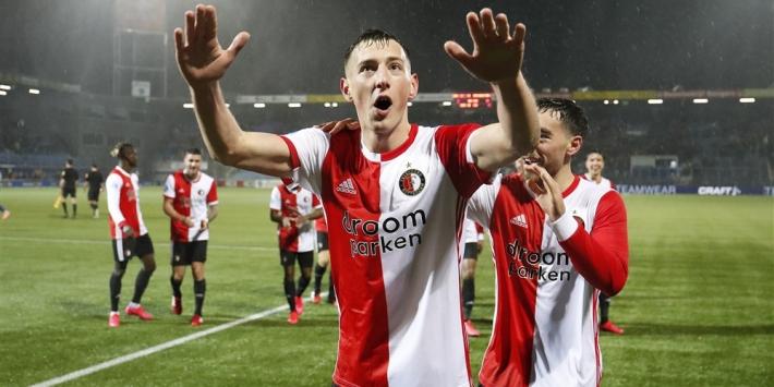 'Feyenoord-bankzitter Bozenik in belangstelling Serie A-clubs'