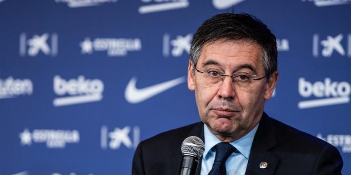 Officieel: voorzitter Bartomeu stapt per direct op bij Barça