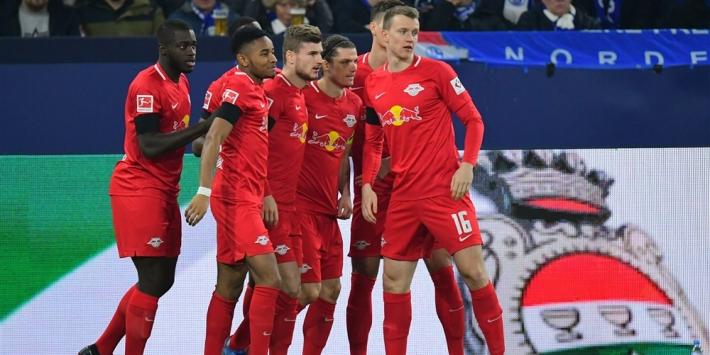 Superieur Leipzig houdt weer huis en vernedert Schalke 04