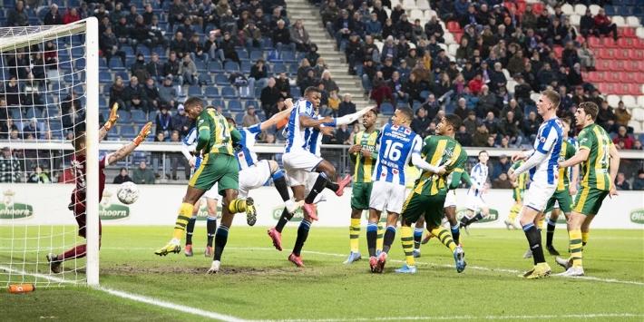 Halilovic toont klasse en helpt Heerenveen aan gelijkspel