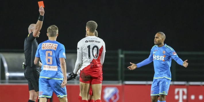 Opnieuw averij voor FC Volendam in promotiestrijd