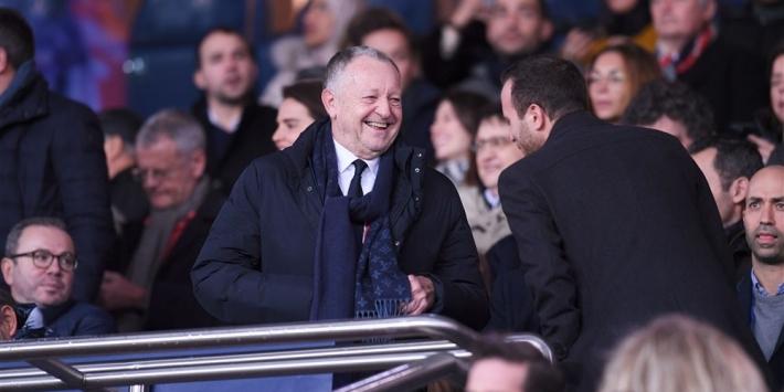 """Aulas droomt van stunt tegen Juventus: """"Lyon is Ajax in het klein"""""""