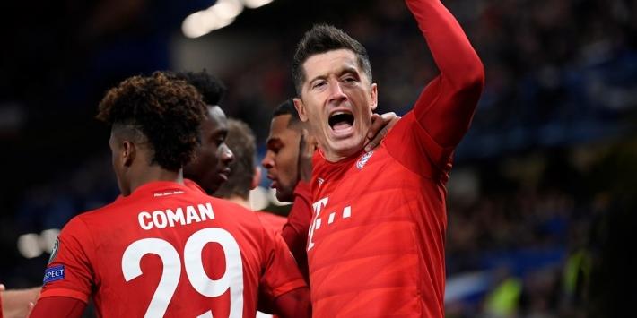 Lewandowski uitgeroepen tot Speler én Spits van het Jaar