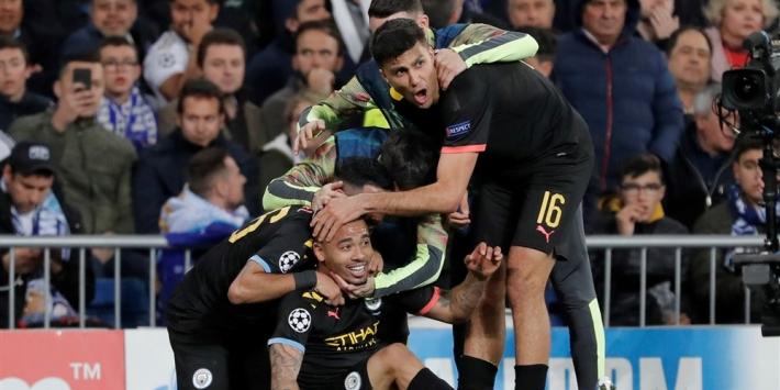 Manchester City verslaat Real Madrid na comeback in bizar slot