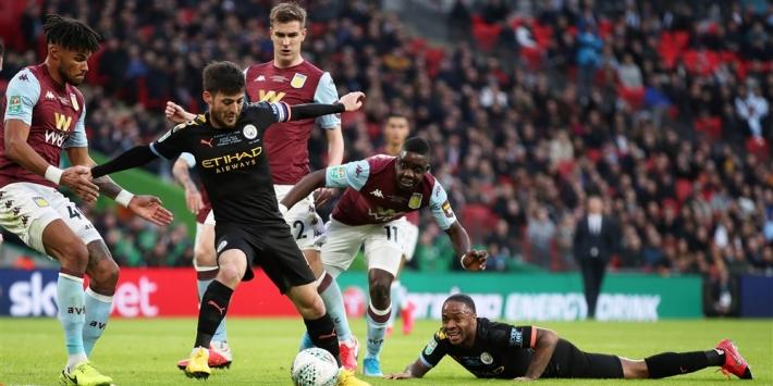 Man City wint voor derde keer op rij de League Cup