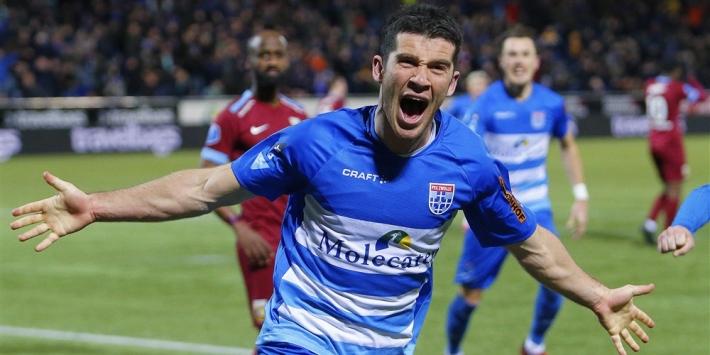 Clement mogelijk komend seizoen als linksbuiten bij PEC Zwolle