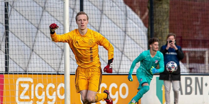 'Van Gaaltje' brengt Ajax O19 naar kwartfinale Youth League