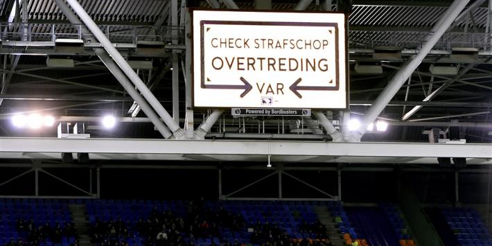 KNVB stuurt Nederlandse VAR-teams eenmalig naar België
