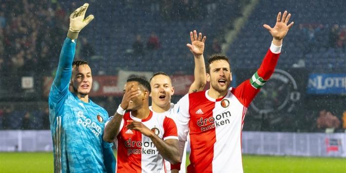 """Volgende topper wacht voor Feyenoord: """"We doen volop mee"""""""