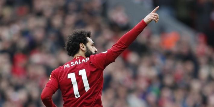 Salah test alweer negatief, inzetbaarheid nog wel twijfelachtig