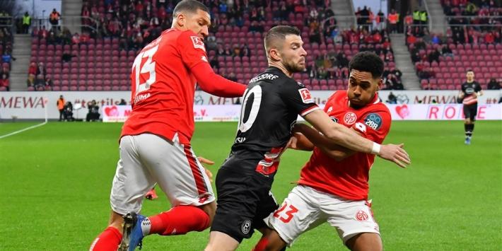 Mainz laat na reuzenstap naar lijfsbehoud te zetten tegen Fortuna