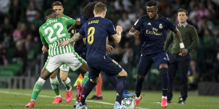Real Madrid verliest bij Real Betis en is koppositie kwijt