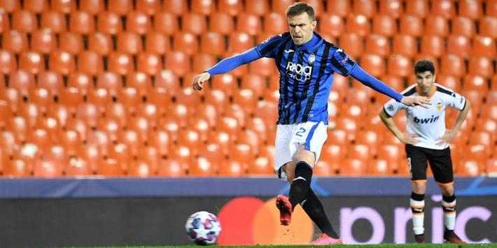 Atalanta wint ook uit van Valencia, vier treffers Ilicic