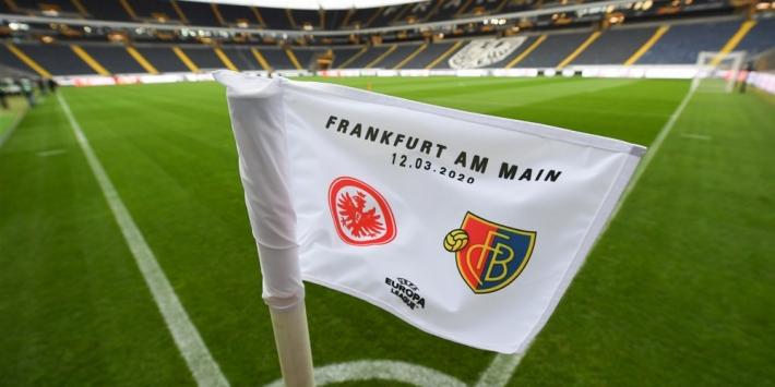 Eintracht onder voorbehoud twee keer in eigen huis tegen Basel