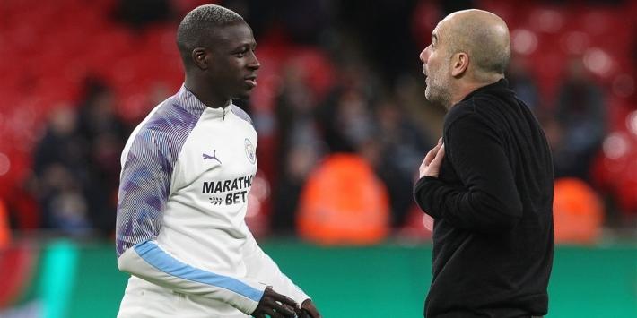 """Guardiola beschermt Mendy: """"Vraag niet om het goede voorbeeld"""""""