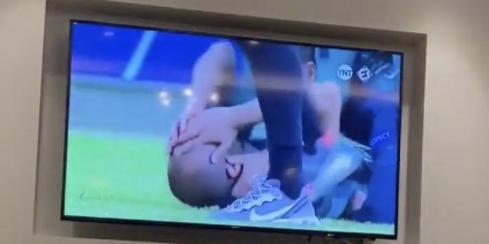Video: Lucas Moura deelt beelden en rijt Ajax-wond open