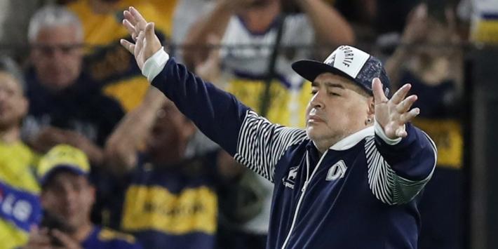 Maradona blijft bij Gimnasia, Simeone verliest trouwe assistent