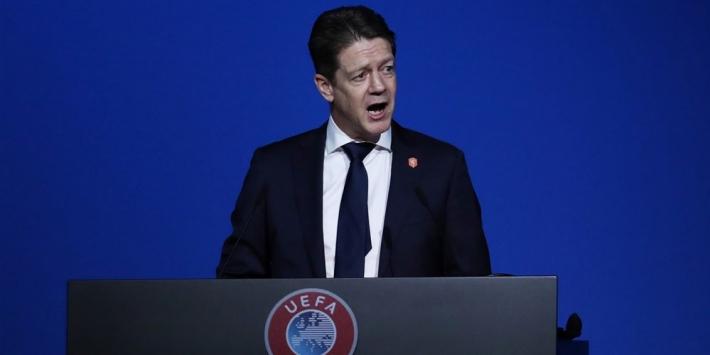 UEFA-kandidaat Spee spreekt zich uit tegen Super League
