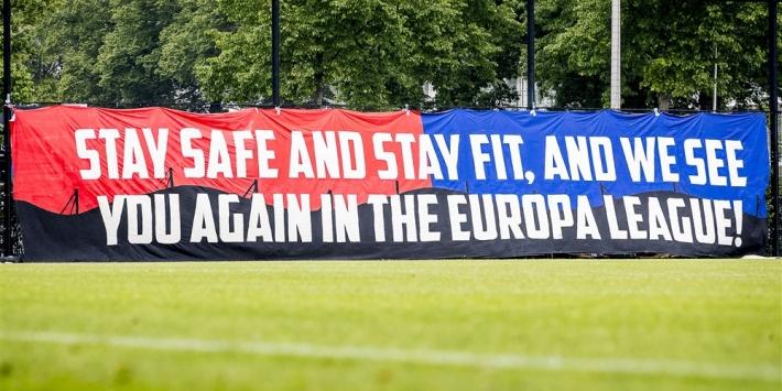 """Willem II-fans sluiten jaar af: """"Vijf minuten later file in Maaskantje"""""""