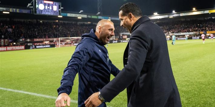 """Sparta wint ook voor Rankovic: """"Was bij ons een geliefd persoon"""""""