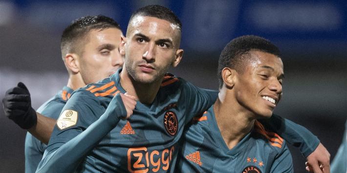 Ziyech kiest mooiste goal in Eredivisie panenka tegen Ajax